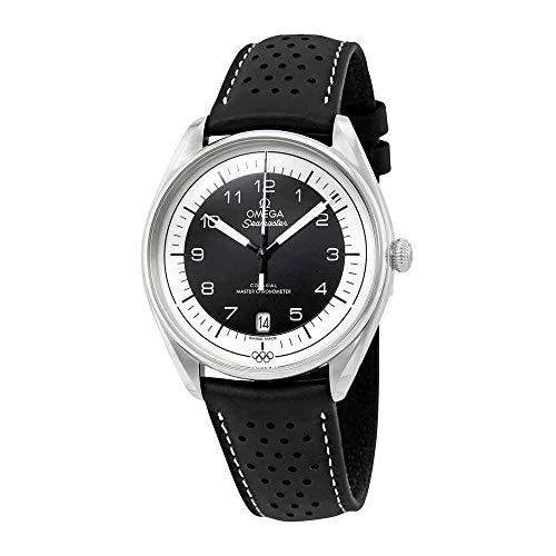 Omega Seamaster Montre chronomètre Automatique en Cuir Noir pour Homme Édition limitée 522.32.40.20.01.003