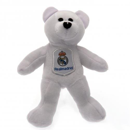 Madrid Plüsch (Geschenk-Ideen, offizielles Real Madrid FC Mini-Bär aus Plüsch-ideal als Geschenk für Fußball-Fans)