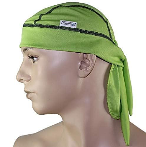 STANTEKS Herren Bandana Schutz Kopftuch Bandana Piratentuch Radfahrrad Unisex SR0054 (grün)