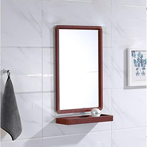 QTUP Espejo Espejo De Baño Montado En La Pared Espejo Grande del Lavabo del Lavabo del Espejo De Vanidad...