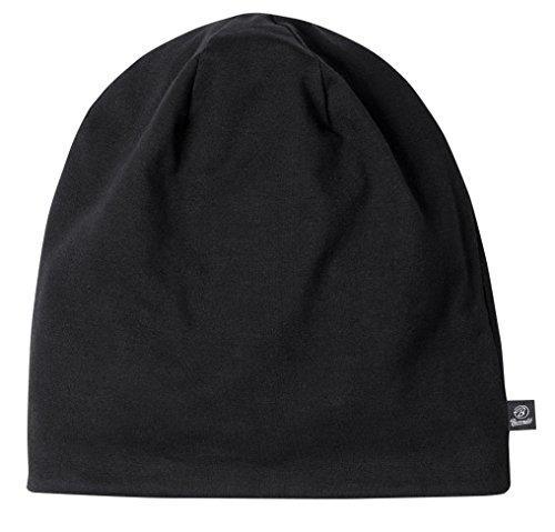 Beanie Jersey 9168-79-XS/S Bicolor Black-Anthr. (klein)