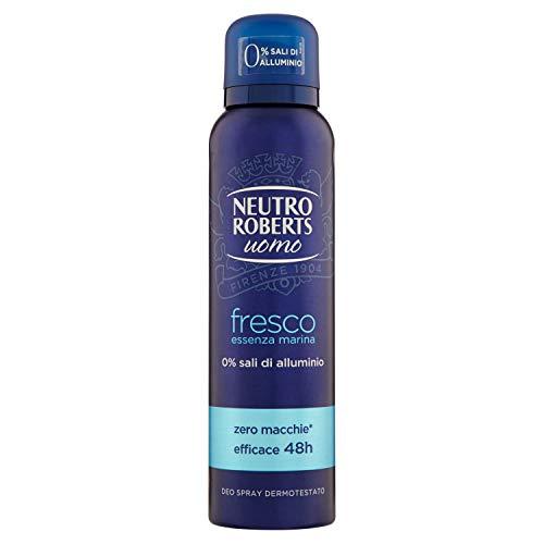 Neutro roberts deodorante spray uomo essenza marina - 150 ml