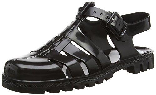 Juju Shoes MAXI, Sandales Plateforme femme Noir - Noir