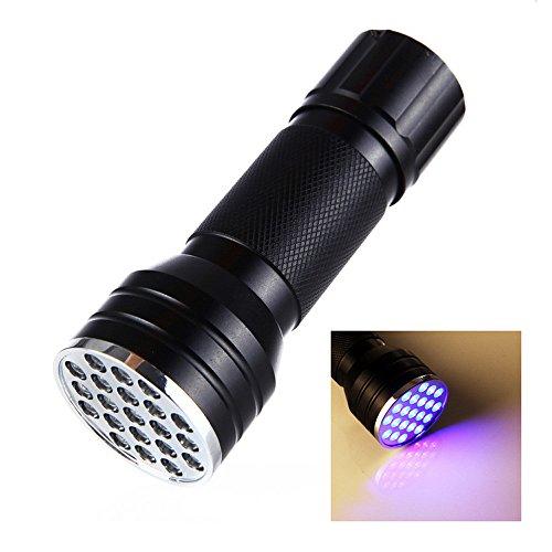 mxjeeio UV Schwarzlicht Taschenlampe mit 51 LEDs | Haustiere Urin-Detektor für Eingetrocknete Flecken Ihrer Hunde, Katzen und Nagetiere auf Teppichen, Vorhänge, Gardinen, Möbel -