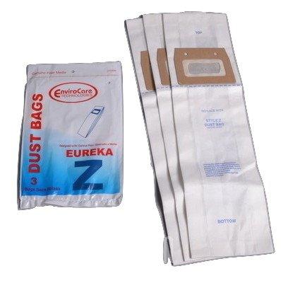 Eureka Sanitaire aufrecht Typ Z Papier Staubbeutel 3pk # 310SW - Eureka-typ