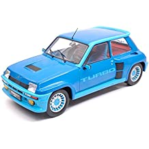 NEW IXO Model 18CMC005 Renault 5 Turbo 1 1981 Blue 1:18 MODELLINO Die Cast