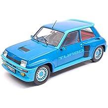 NEW IXO Model 18CMC005 Renault 5 Turbo 1 1981 Blue 1:18 MODELLINO Die Cast