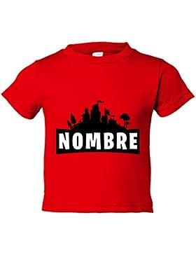 Camiseta niño Fortnite personalizable con nombre
