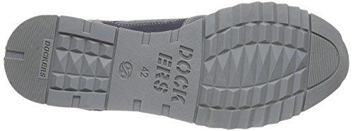 Dockers by Gerli 38eb002-208 Herren Low-Top Grau (grau/rot 207)