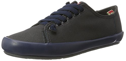 CAMPER Damen Borne Sneakers Grau (Dark Grey 001)