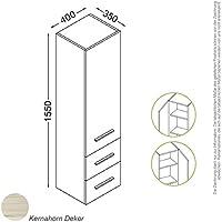 Roma congelatore 155cm kernahorn, battuta porta: Sinistra; legno colore: C017Kern acero parete