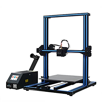 GEEETECH A30 3D Printer with Super Large Print Size: 320×320×420mm and Power Failure Recovery, 3.2? Full-color Touch Screen, Good Adhesion of Building Platform, SMARTTO open source firmware, Support 3D Wifi Module, Half Assembled DIY Kit.