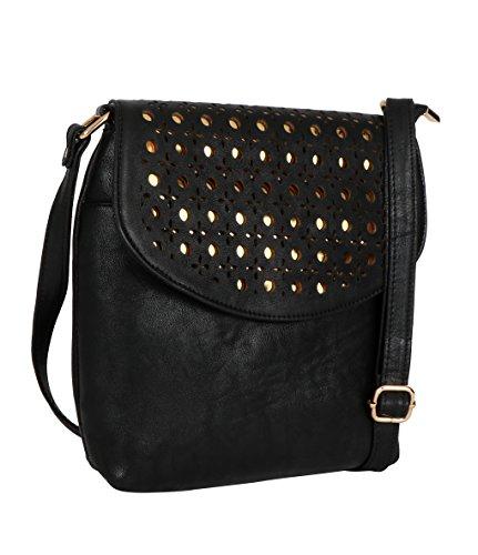Exotic Women's Black Sling Bag