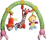 TIMEMEAN Baby Travel Gioca ad Arch Stroller Culla Barra di attività della Carrozzina con Squittio sonaglio