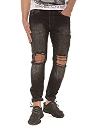 Red Bridge Homme Jeans / Jeans Straight Fit Destryoed Knee