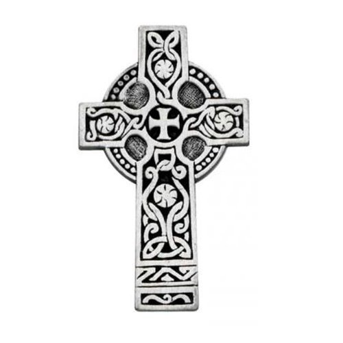 Cathedral Art KVC112 Auto Visor Clip, Celtic Cross, 2-3/8-Inch by Cathedral Art