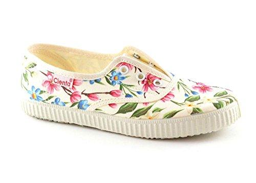 CIENTA Tissu élastique Chaussures Fille Fleur