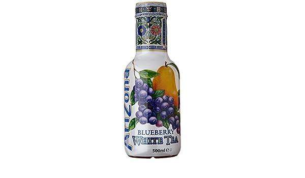 """Résultat de recherche d'images pour """"1 boisson au thé AriZona Tea Blueberry White Tea"""""""