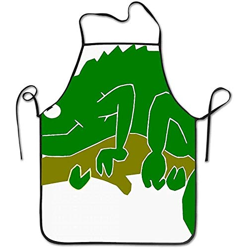 Kostüm Chameleon - Buy Apron Chameleon Lizard Green Branch Funny Cooking Apron for Men - BBQ Grill Kitchen Chef Barbecue Gifts, One Size Fits Most