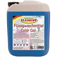 Élément Lessive Liquide Color Lessive Gel Lessive Color Multicolore linge lessive liquide 5L