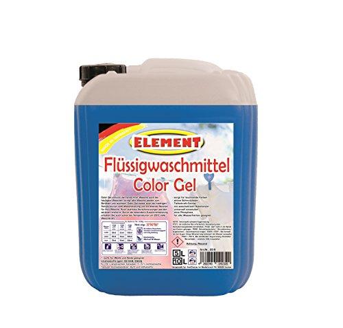 Element Flüssigwaschmittel Color Gel Waschmittel Color Waschmittel Buntwäsche Waschpulver flüssig 5 Liter