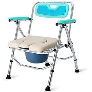 chaise perc e pliante confort chaise avec wc rembourr portable abattant de wc porta pour. Black Bedroom Furniture Sets. Home Design Ideas