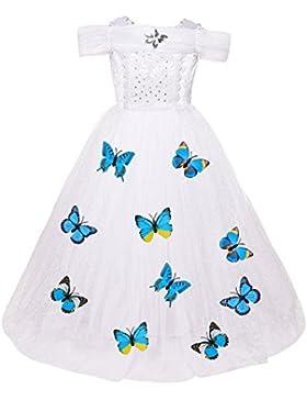 [Patrocinado]Le SSara Princesa de las niñas de Navidad disfraces cosplay vestido de mariposa