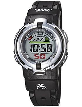 Electronic watch children wasserdicht sport running student-F