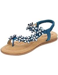 Luckycat Chanclas Flip Flop Planas Mujer Sandalias Romanas Plataforma Cuña Tacon Verano Zapatos Sandalias de Mujer