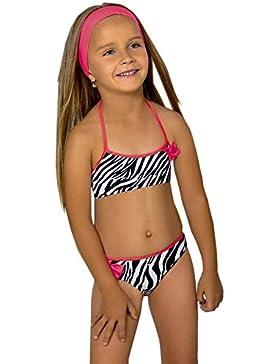 Mädchen Kinder Bikini Beachwear Badeanzug Badeanzug 234567jahre M39