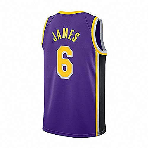 MS-QY Jersey Balones No.6 Lebron James Jersey Adulto