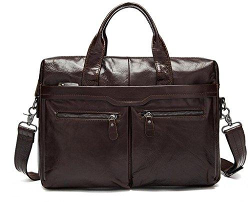 SHFANG Herrenhandtasche / Arbeit Aktentasche / Business-Ledertasche / Casual Leder Umhängetasche , 4 2