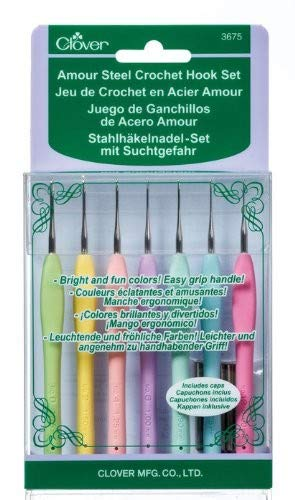 Amour Stell Crochet Hook Set-