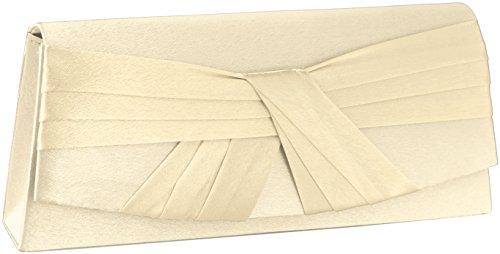 JosyJoe Pochette 'Joana'/Sac de soirée, couleur:Blanc