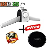 Marshland Portable Cloth Drying Hanger with Smart Shoes Dryer Heater Mini Portable Dryer