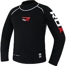 RDX Erupción Guardia Rashguard MMA BJJ Rash Vest Camisetas Compresion Termicas Sudor