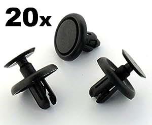 fonction bordure clips 90467 07201 clips 20 pi ces import allemagne. Black Bedroom Furniture Sets. Home Design Ideas