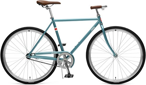 Critical Cycles Herren Parker City Bike mit Coaster Brake Bicycle, Ice Blue, XL (Retro Single)