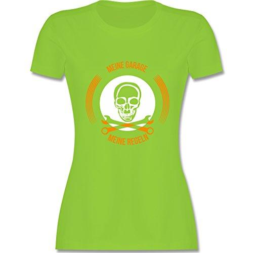 Statement Shirts - Meine Garage meine Regeln - tailliertes Premium T-Shirt  mit Rundhalsausschnitt für