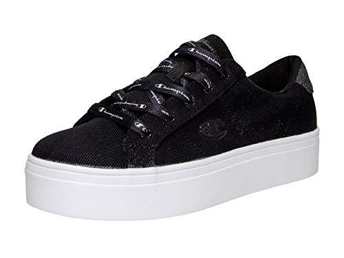 CHAMPION Low Cut Damen Plateau-Sneakers Alex Platform, schwarz, Gr. 39 -