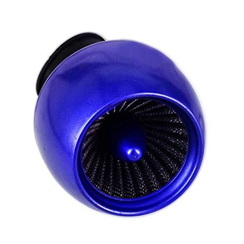 Descripción:  Este filtro de aire codo motocicleta puede filtrado las partículas grandes, por lo que el aire estará más limpio que puede reducir el desgaste del motor  Está diseñado con una interfaz ajustable 28-48mm, se puede añadir o reducir la jun...