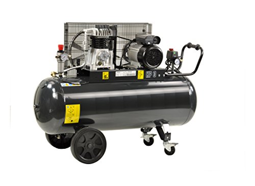 Pro-Lift-Montagetechnik 2,2kW Kompressor, 10bar, 250L/min, 230V, 150Liter Kessel, schwarz, 00991