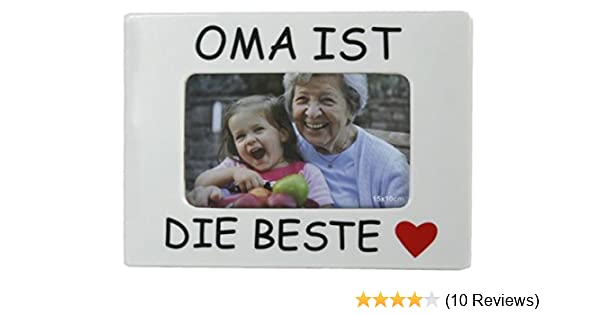Mama ist der Beste f/ür jeweils 1 Bild im Format 10x15 Papa Opa Mama Wopster Bilderrahmen Oma