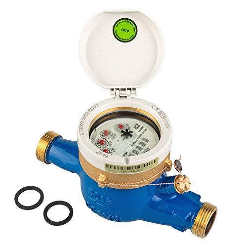 Haus Wasserzähler Naßläufer MNK QN 2,5 Waagerecht