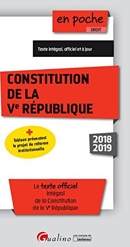 Constitution de la Ve République