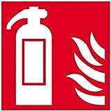 94,6L.- Express Fr07202s Extincteur Symbole avec symbole de la flamme, 100mm x 100mm, S/A