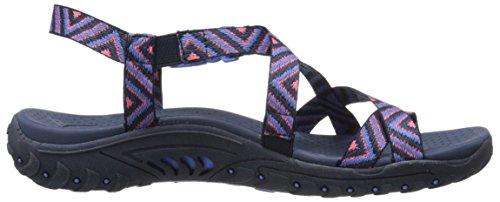 Amp Zehe Pink Skechers Ring Reggae Navy Sandale Skechers Reggae 0tqBF
