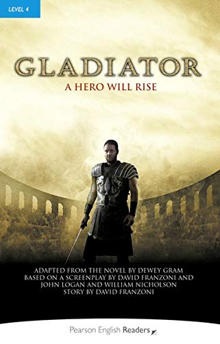 Penguin Readers 4: Gladiator Book & MP3 Pack (Pearson English Graded Readers) - 9781447934912