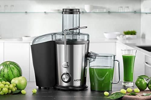 Zentrifugenentsafter 800W für Obst und Gemüse Bild 6*