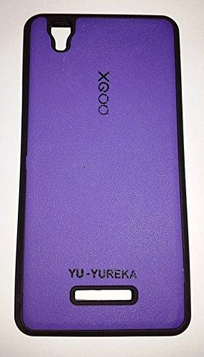 NBD XGOQ PROTECTIVE BACK CASE COVER FOR MICROMAX YU YUREKA PURPLE